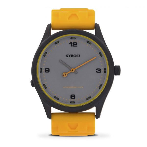 KYBOE Uhr KYS.41-015 Yellow Black - SLIM SERIES