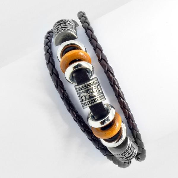 Vintage-Armband, schwarz 10