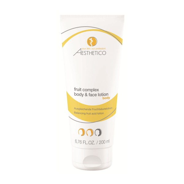 AESTHETICO fruit complex body & face lotion 200ml